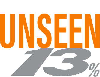 Find the Unseen 13%
